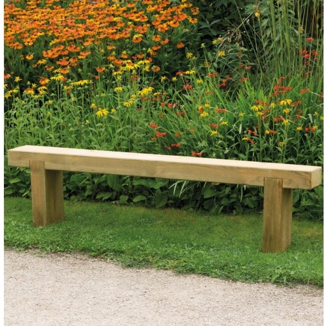 Forest Garden Sleeper Bench 18m