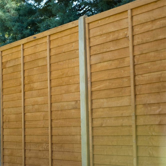 Click to view product details and reviews for Forest Garden Straight Edge Lap Fence Panel.