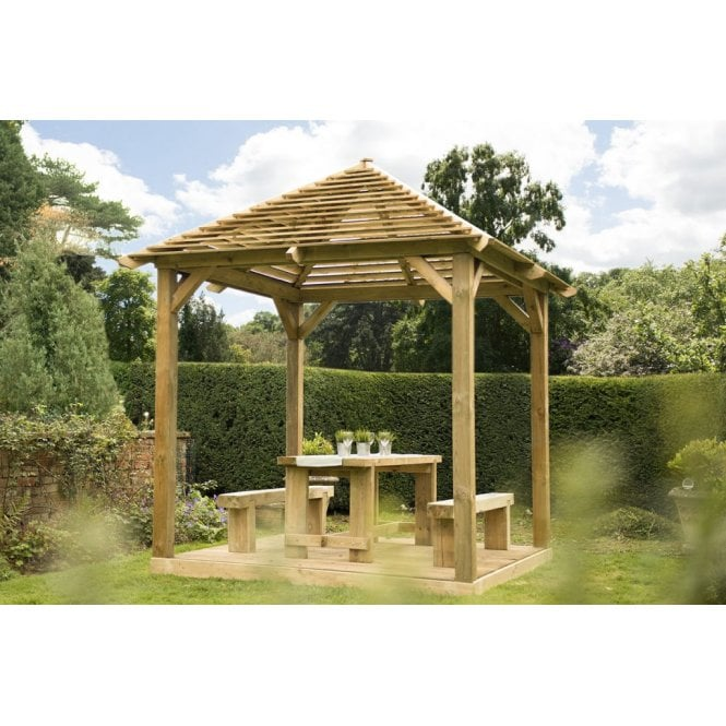 Click to view product details and reviews for Forest Garden Venetian Pavilion Decking.