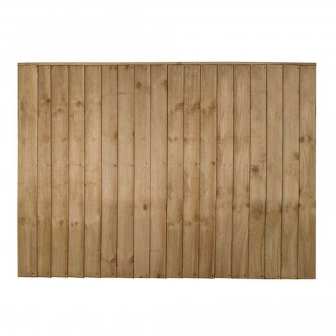 Forest Garden Vertical Board Fence Panel