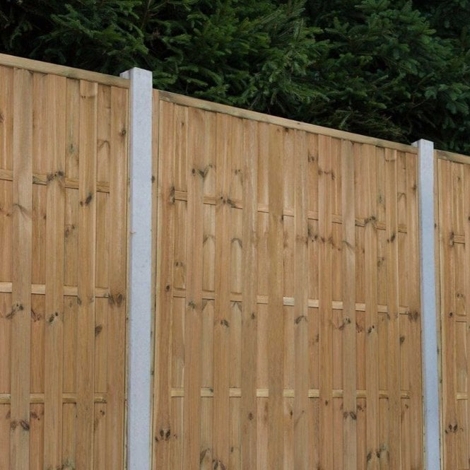 Click to view product details and reviews for Forest Garden Vertical Hit And Miss Fence Panel.
