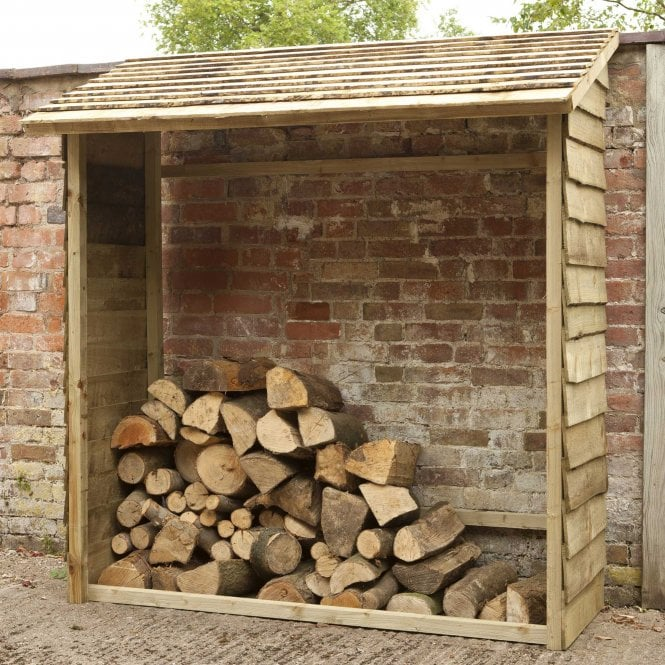 Click to view product details and reviews for Forest Garden Wall Log Store.