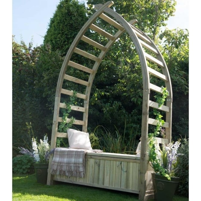 Click to view product details and reviews for Forest Garden Whitby Arbour.