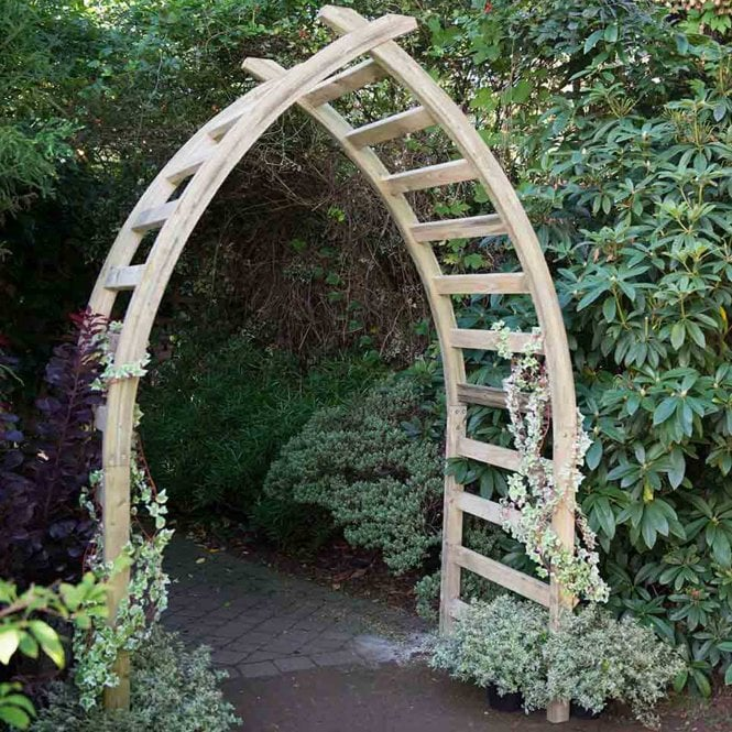 Click to view product details and reviews for Forest Garden Whitby Arch.