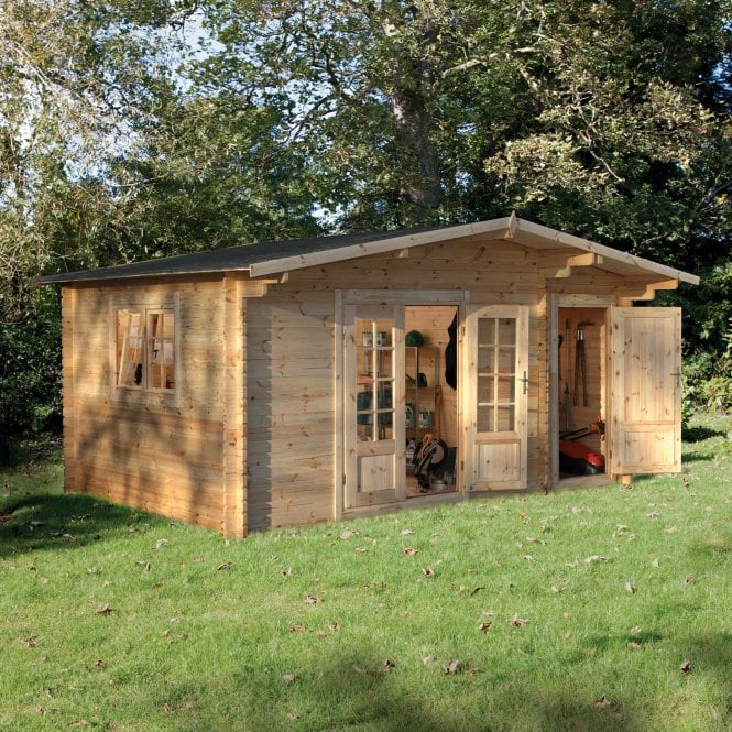 Click to view product details and reviews for Forest Garden Wrekin Log Cabin 48m X 35m.