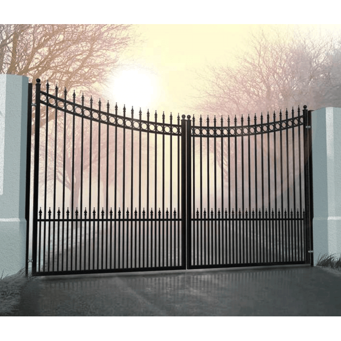 Click to view product details and reviews for Formentera Ornate Aluminium Driveway Gate.