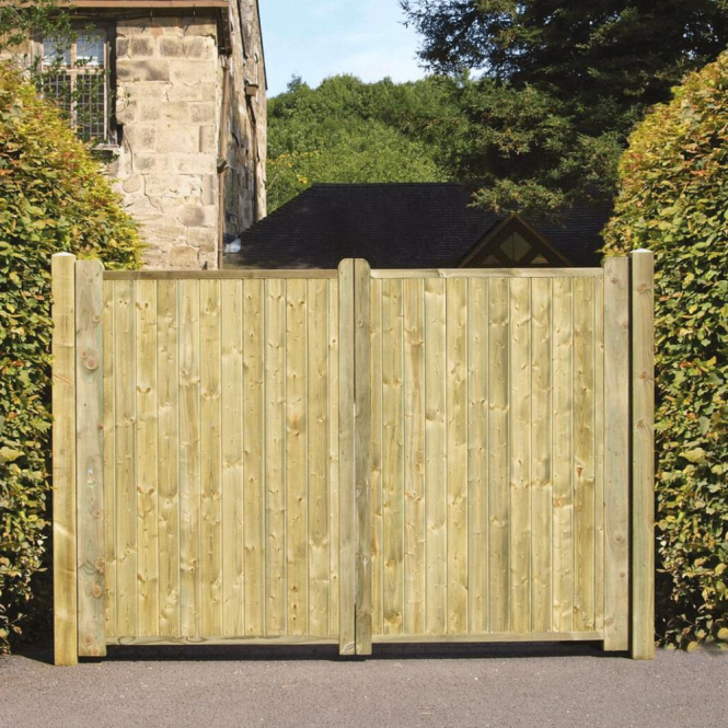 Click to view product details and reviews for Fortress Tall Driveway Gates.