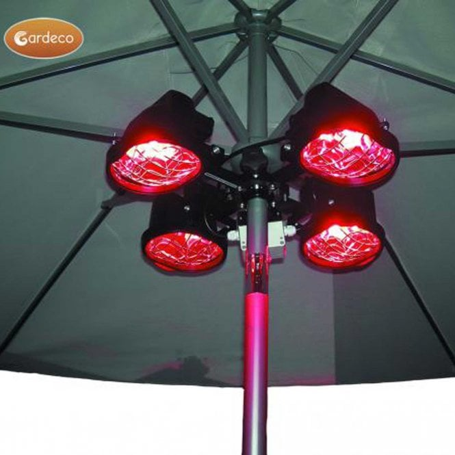 Click to view product details and reviews for Gardeco Electric Parasol Heater.