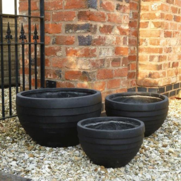 Garden Feature Co Croxton Garden Pots-Set of 3