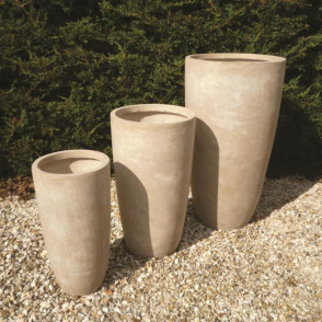Garden Feature Co Long Bennington Garden Pots - Set of 3