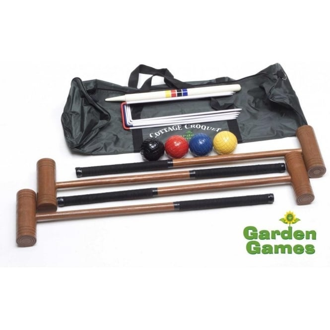 Cottage Croquet Set with Carry and Storage Bag