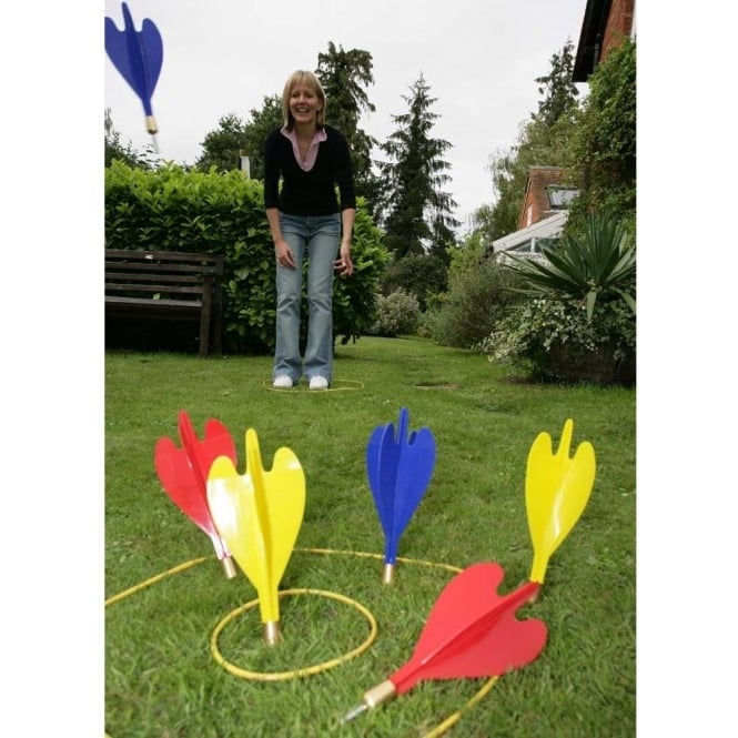 Garden Darts with Carry Box