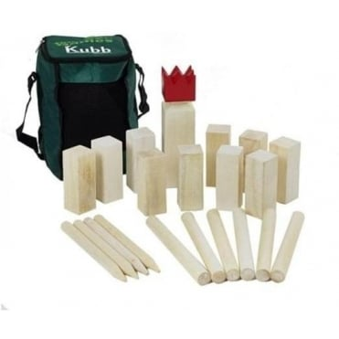 Garden Games Kubb Wooden Game of Skill
