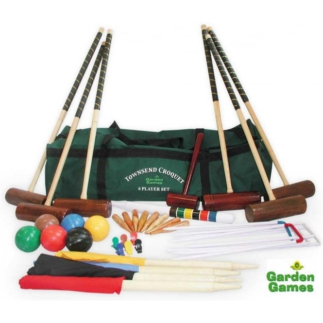Townsend 6 Player Croquet Set