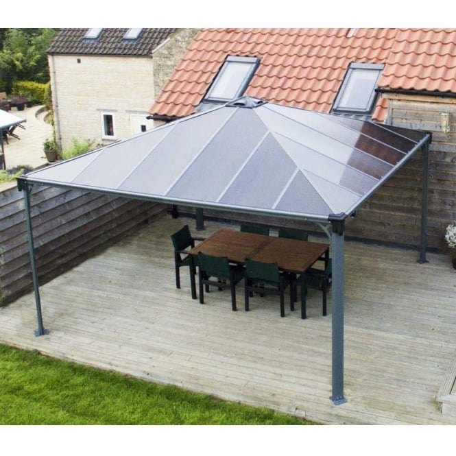 Click to view product details and reviews for Gazebo Palermo 4300 Grey.