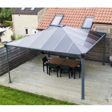 Gazebo Palermo 4300 Grey
