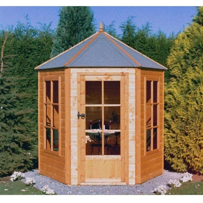 Click to view product details and reviews for Gazebo Summer House Single Door 2 Windows.