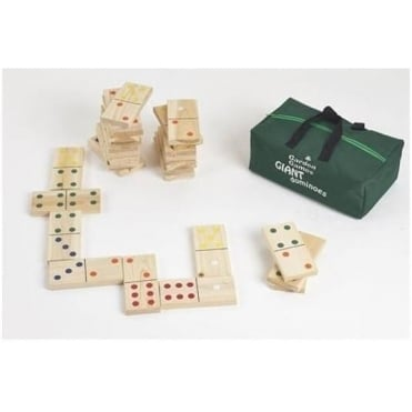 Giant Dominoes in a Carry Bag