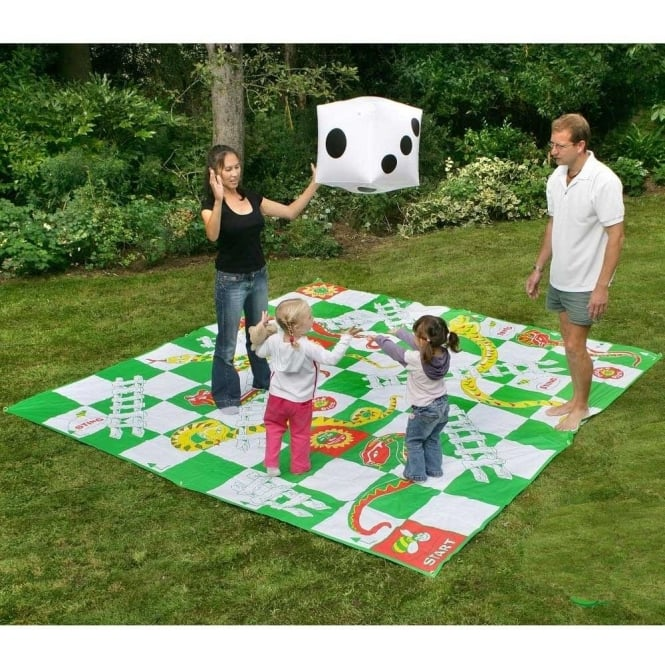 Giant Snakes And Ladders 3m Squared Plastic Base Extra