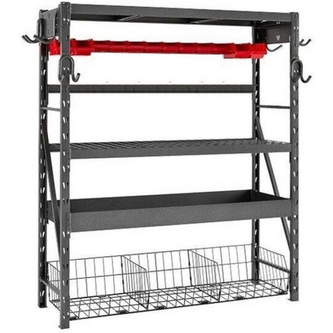Click to view product details and reviews for Globel Silver Vein Nevada Combo Shelving Unit.