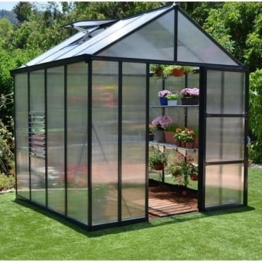 Glory 8ft Greenhouse: 4 Size Options, 8ftx8ft, 8ftx12ft, 8ftx16ft, 8ftx20ft