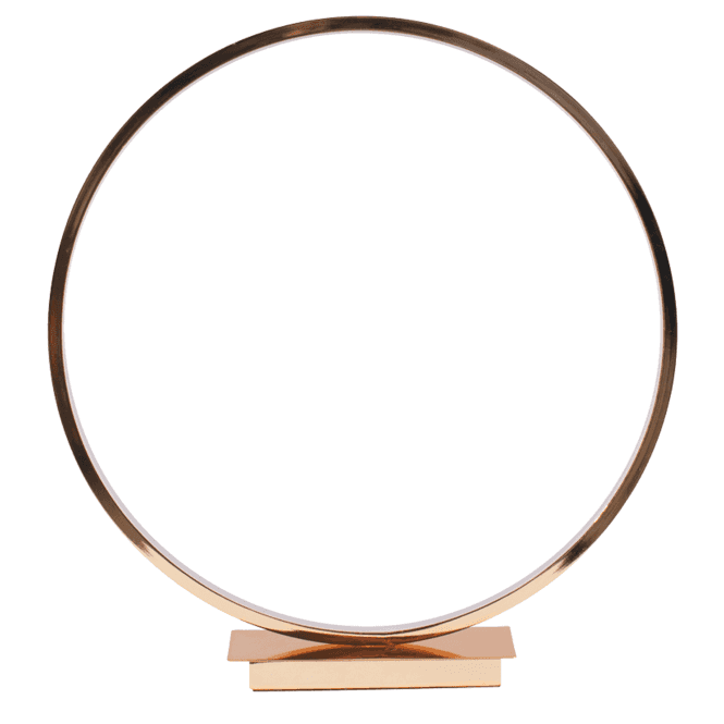 Click to view product details and reviews for Gold Led Circle Table Lamp.