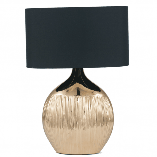 Click to view product details and reviews for Gold Scratched Ceramic Complete Table Lamp.