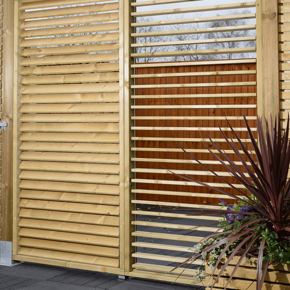 Grange Adjustable Slat Garden Screen