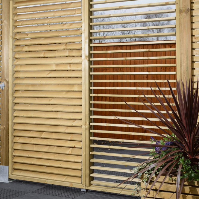 Click to view product details and reviews for Grange Adjustable Slat Garden Screen.