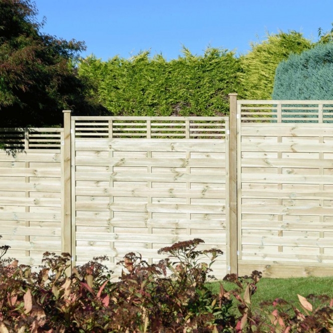 Click to view product details and reviews for Grange Elite Lille Fence Panel 18m.
