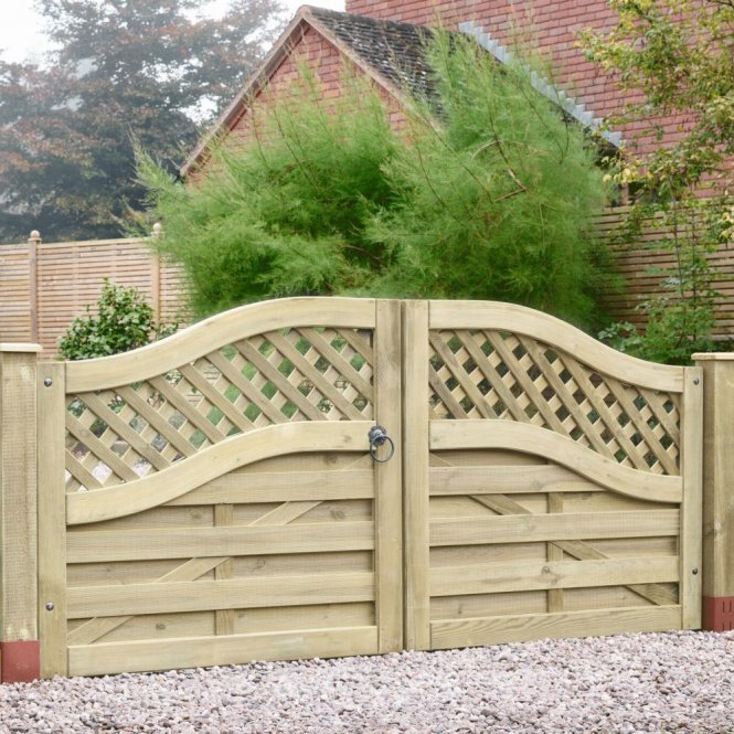 Click to view product details and reviews for Grange Elite Meloir Double Driveway Gate.
