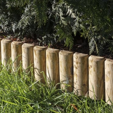 Green Log Edging Board