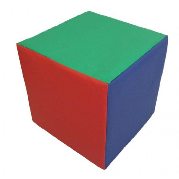 Foam Cube  sc 1 st  Garden Chic & Childrens Foam Cube chair bright Colourful easy Wipe Clean Cover