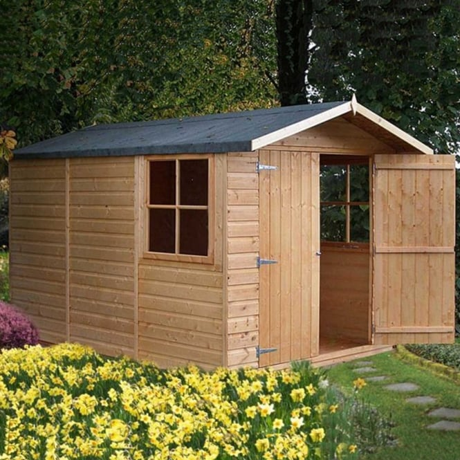 Click to view product details and reviews for Guernsey Garden Shed 7ft X 10ft Double Door.