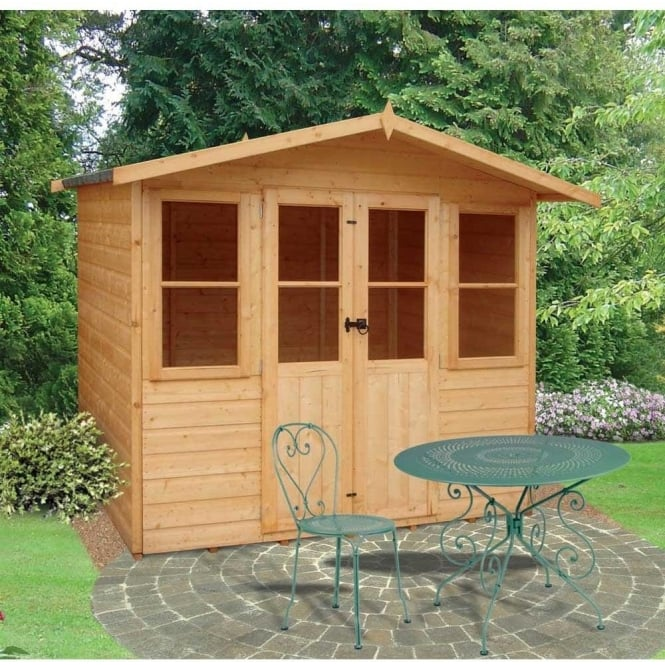 Click to view product details and reviews for Haddon Garden Summerhouse 7ft X 5ft Double Doors.