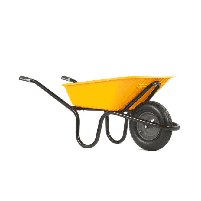 Click to view product details and reviews for Haemmerlin Aktiv Extreme Alpha Poly 90ltr Wheelbarrow.