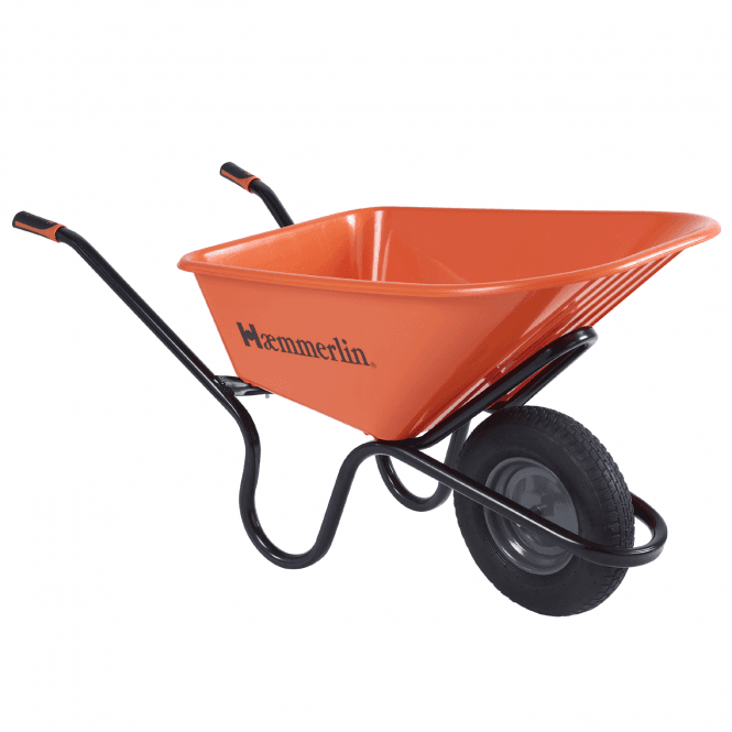 Click to view product details and reviews for Haemmerlin Crusader 120 Ltr Wheelbarrow.