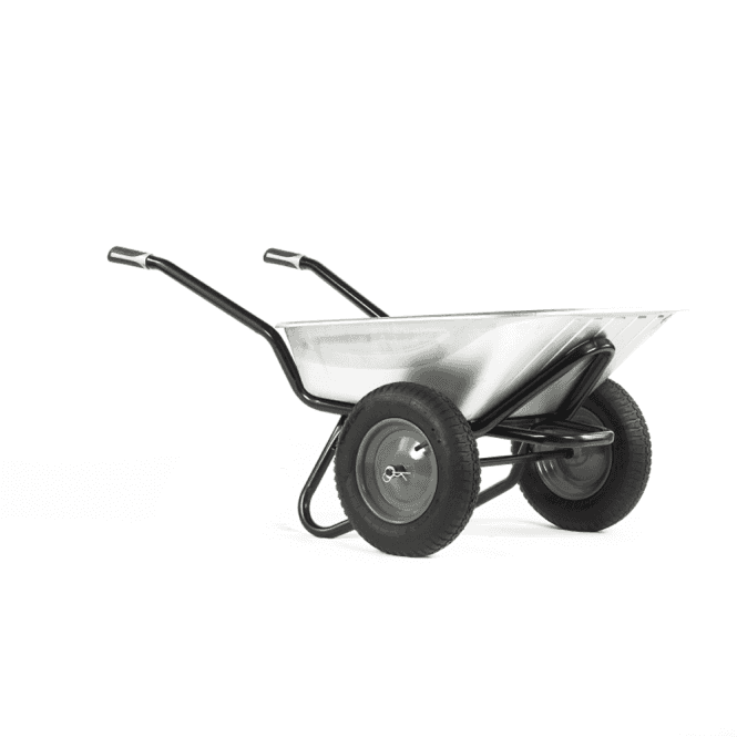 Click to view product details and reviews for Haemmerlin Pro Select Twin Original 90ltr Wheelbarrow.