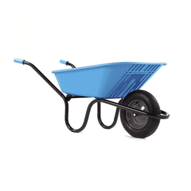 Click to view product details and reviews for Haemmerlin Vibrante Go 90ltr Pneumatic Wheelbarrow Blue.