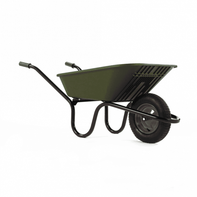 Click to view product details and reviews for Haemmerlin Vibrante Go 90ltr Pneumatic Wheelbarrow Green.