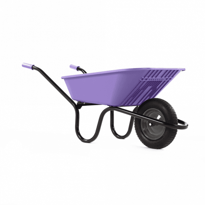 Click to view product details and reviews for Haemmerlin Vibrante Go 90ltr Pneumatic Wheelbarrow Lilac.
