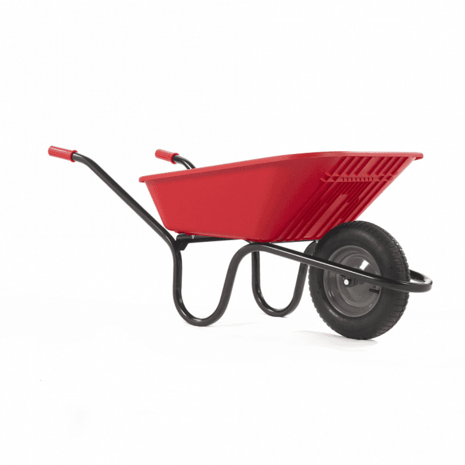 Click to view product details and reviews for Haemmerlin Vibrante Go 90ltr Pneumatic Wheelbarrow Red.