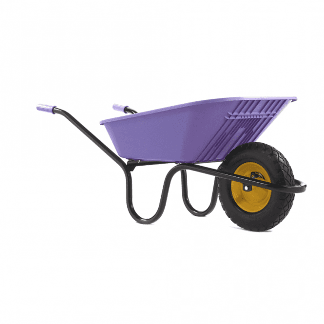 Click to view product details and reviews for Haemmerlin Vibrante Go 90ltr Puncture Free Wheelbarrow Lilac.