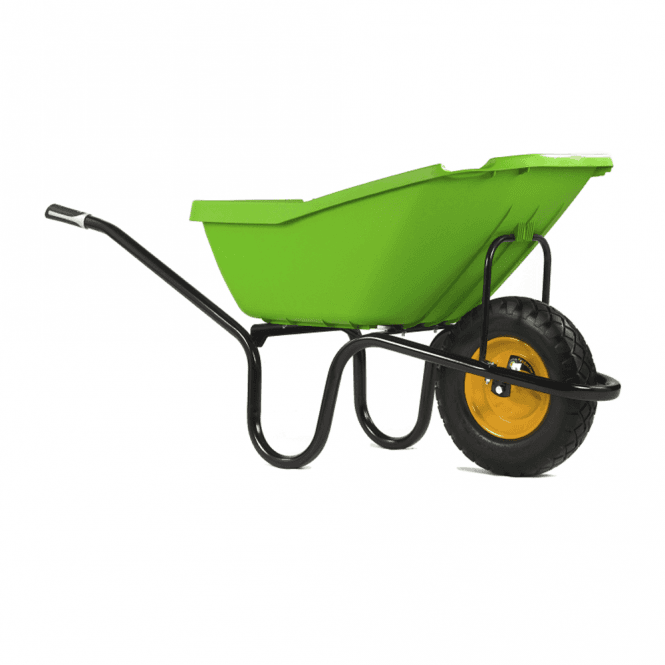 Click to view product details and reviews for Haemmerlin Vibrante Pick Up Green 110ltr Wheelbarrow.