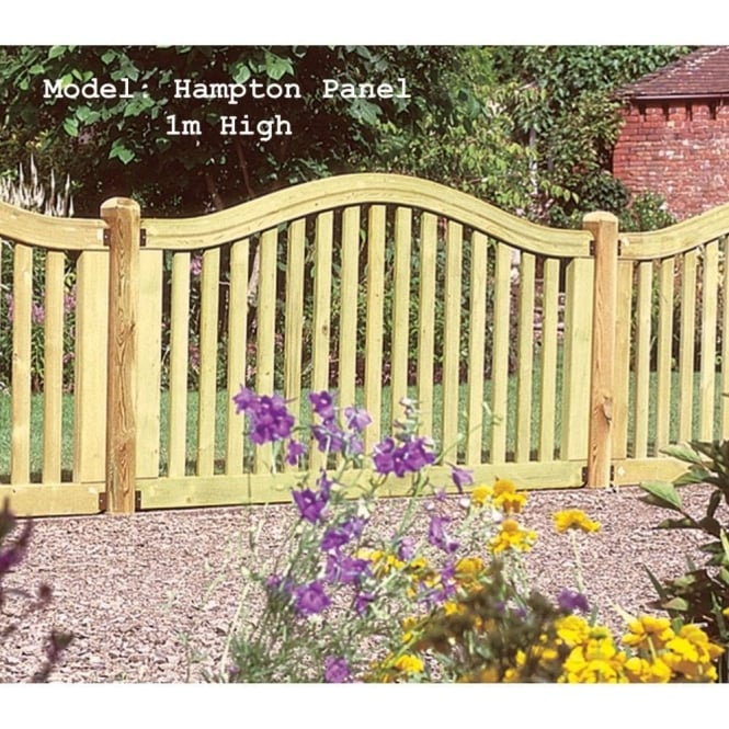 Click to view product details and reviews for Hampton Fence Panel 1m High.