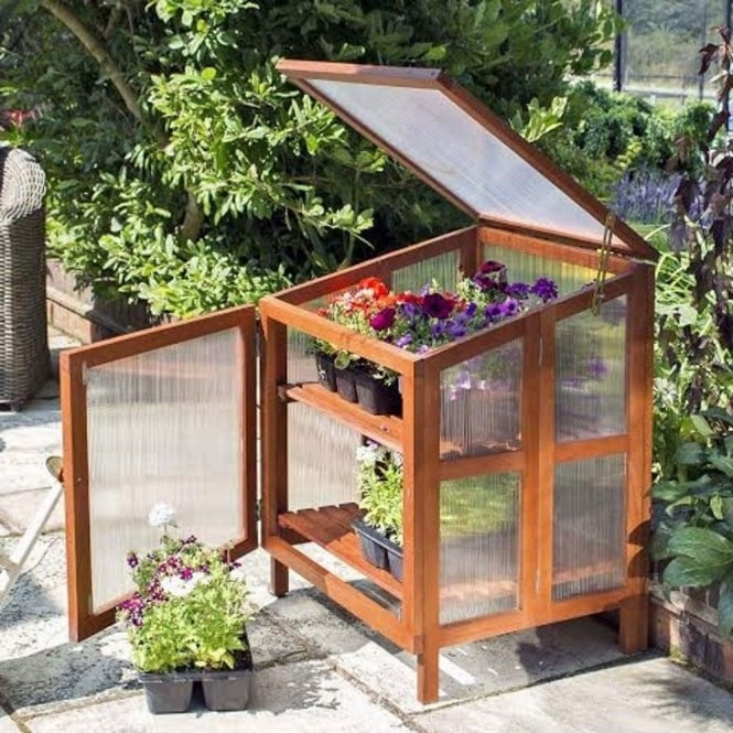 Hardwood Coldframe Greenhouse