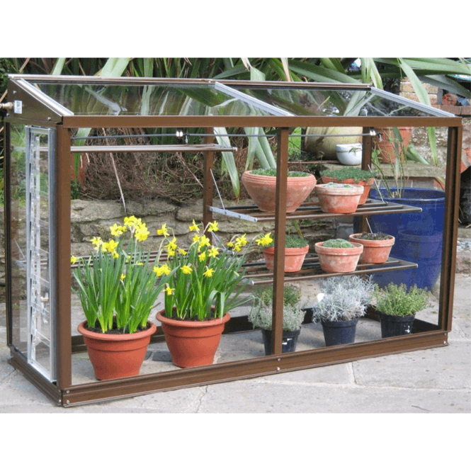 Click to view product details and reviews for Harlow Mini Lean To Greenhouse 5ft Aluminium.