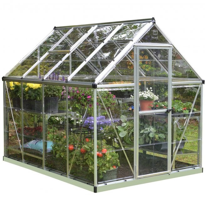 Click to view product details and reviews for Harmony 6 X 8 Silver Greenhouse.
