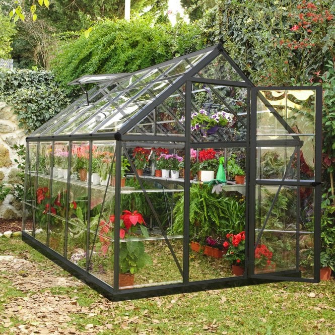 Click to view product details and reviews for Harmony 6ft X 10ft Greenhouse Grey.