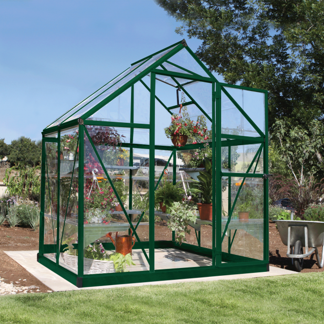 Click to view product details and reviews for Harmony 6ft X 4ft Greenhouse Green.